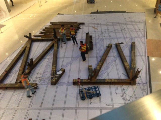 7245_Fabrication directly over the 1 to 1 scale drawings_04