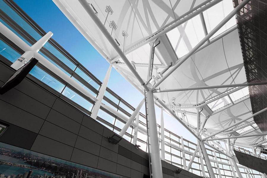 New Perth Stadium Tensile Membrane Roof